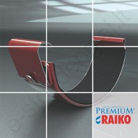 Latako jungtis Raiko Premium 125/90 Sidabrinė (Prelaq 044) plieninė, vnt