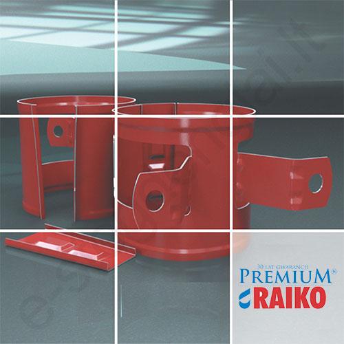 Lietvamzdžio laikiklis prie medžio Raiko Premium 150/100 Vario (Prelaq 778), vnt
