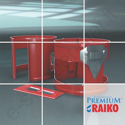 Lietvamzdžio laikiklis Raiko Premium 150/100 Vario (Prelaq 778) plieninis, vnt