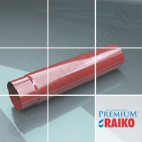 Lietvamzdis Raiko Premium 125/90 1m T.Rudas (Prelaq 444) plieninis, vnt