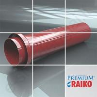 Lietvamzdžio įvadas į žemę Raiko Premium 125/90 Sidabrinis (Prelaq 044), vnt