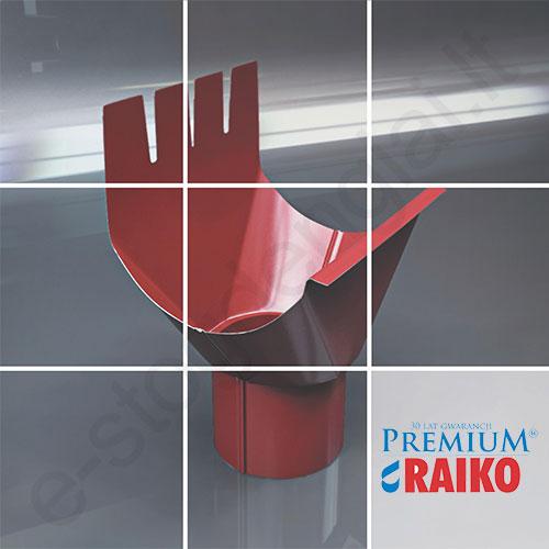 Santaka-Įlaja Raiko Premium 125/90 Sidabrinė (Prelaq 044) plieninė, vnt