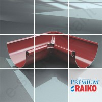 Latako vidinis kampas 90° Raiko Premium 125/90 T.Rudas (Prelaq 444), vnt