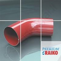 Lietvamzdžio viršutinė alkūnė Raiko Premium 125/90 T.Ruda (Prelaq 444), vnt