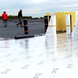 Plokščio stogo šiltinimas