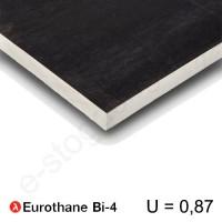 Recticel Eurothane Bi-4 poliuretano plokštė stogui 1200x600x30mm, 1vnt/0,72m²