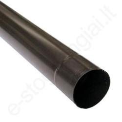 Scala lietvamzdis 125/80 4m T.Rudas (Ral 8019) plastikinis, vnt