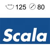 Scala 125/80