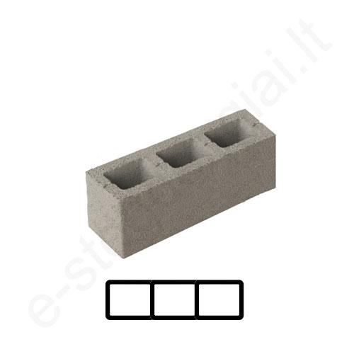 Schiedel ventiliacinis blokelis 3 kanalų 67x20cm h=10,66m, kompl