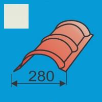 Apvalus kraigas L=1980 Balta poliesteris 0,5mm, vnt