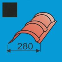 Apvalus kraigas L=1980 Juoda poliesteris 0,5mm, vnt