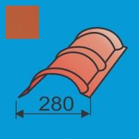 Apvalus kraigas L=1980 Raudona Molio poliesteris 0,5mm, vnt