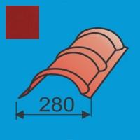Apvalus kraigas L=1980 Raudona Purpurinė poliesteris 0,5mm, vnt