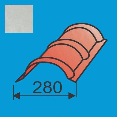 Apvalus kraigas L=1980 Sidabrinė poliesteris 0,5mm, vnt