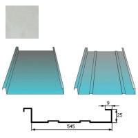 Stogų danga Classic 0,5mm Prelaq Nova 50mk sidabrinė, m²