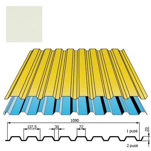 Sienų danga DP18 0,5mm poliesteris 27mk balta, m²