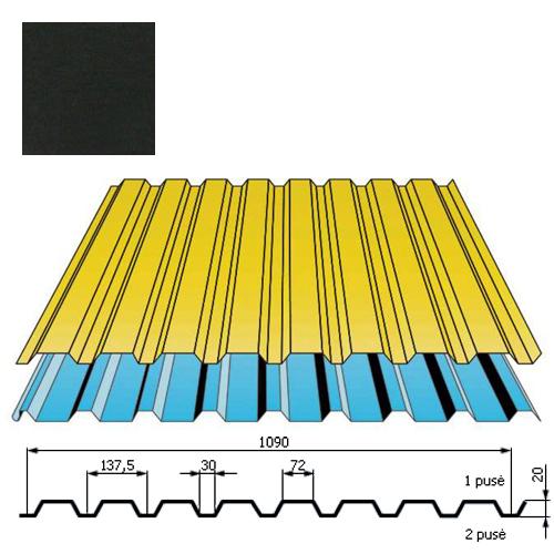 Sienų danga DP18 0,5mm Prelaq Nova 50mk juoda, m²