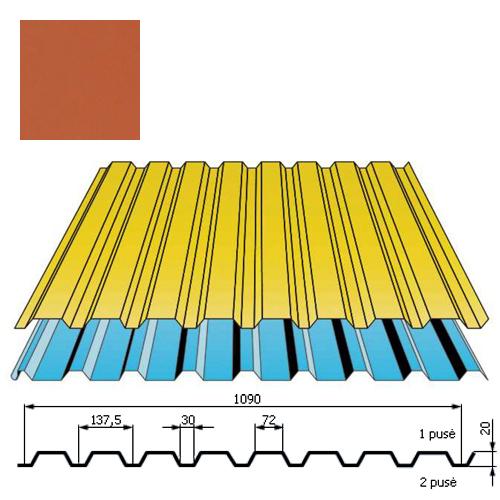 Sienų danga DP18 0,5mm poliesteris 27mk molio, m²