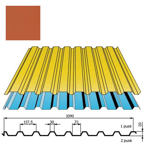 Stogo danga DP20 0,5mm poliesteris 27mk molio, m²