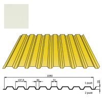 Kamino sienos profilis DP18 1,09x2m Balta poli 0,5mm, vnt