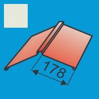 Kraigas 190x190 L=2000 Balta poliesteris 0,5mm, vnt