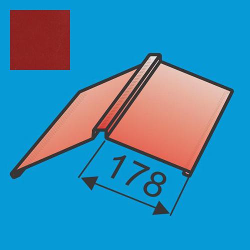 Kraigas 190x190 L=2000 Raudona Purpurinė poliesteris 0,5mm, vnt