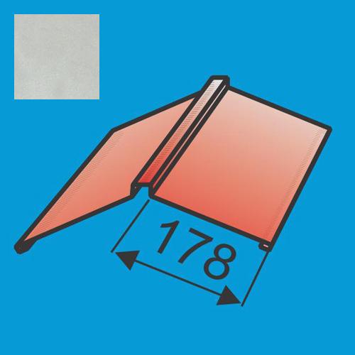 Kraigas 190x190 L=2000 Sidabrinė poliesteris 0,5mm, vnt