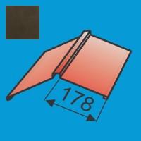 Kraigas 190x190 L=2000 Tamsiai Ruda poliesteris 0,5mm, vnt