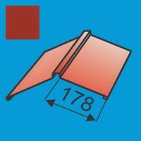 Kraigas 190x190 L=2000 Raudona Vyšnia poliesteris 0,5mm, vnt