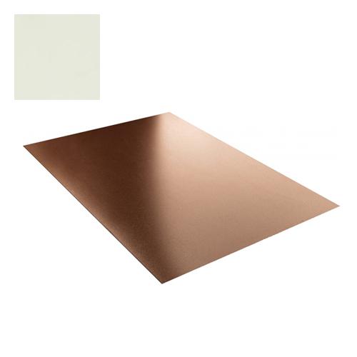 Lygi skarda 1,25x2,0m 2,5m² Balta poliesteris 0,5mm, vnt