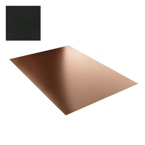Lygi skarda 0,5mm poliesteris 27mk juoda, m²
