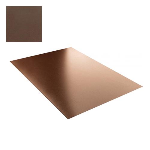 Lygi skarda 1,25x2,0m 2,5m² Ruda poliesteris 0,5mm, vnt