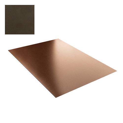 Lygi skarda 0,5mm Prelaq Nova 50mk tamsiai ruda, m²