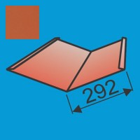 Sąlaja 290x290 L=2000 Raudona Molio poliesteris 0,5mm, vnt