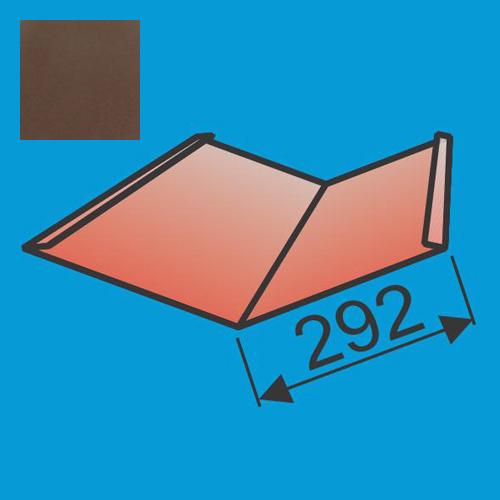 Sąlaja 290x290 L=2000 Ruda poliesteris 0,5mm, vnt