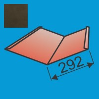Sąlaja 290x290 L=2000 Tamsiai Ruda poliesteris 0,5mm, vnt