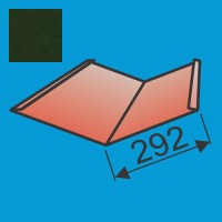 Sąlaja 290x290 L=2000 Tamsiai Žalia poliesteris 0,5mm, vnt