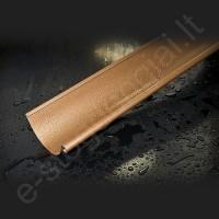 Latakas Struga 150/100 2m Pilkas grafito (Prelaq 036) plieninis, vnt