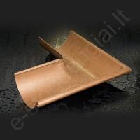 Latako išorinis kampas 90° Struga 150/100 Pilkas grafito (Prelaq 036), vnt
