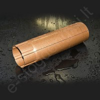 Lietvamzdis Struga 150/100 1m Pilkas grafito (Prelaq 036) plieninis, vnt
