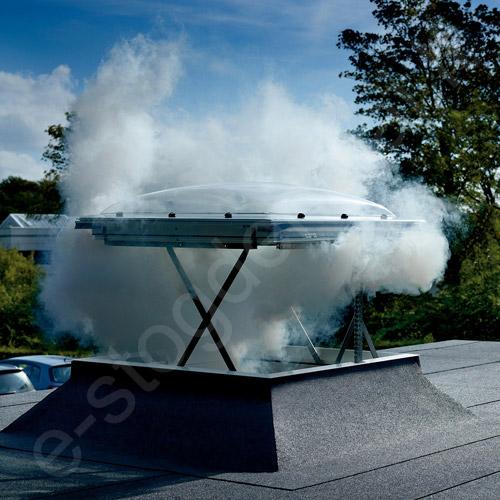 Dūmų šalinimo liukas VELUX CSP plokščiam stogui 100x100