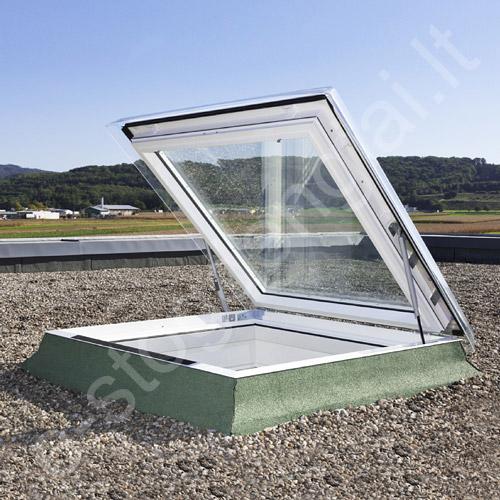 Velux CXP išlipimo liukas plokščiam stogui 90x120