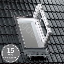 Velux stogo liukas GXU0050 55x118 Drėgmei atsparus