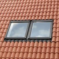 Sandarinimo tarpinė EKW0021E 114x160 banguotai dangai 2 langams