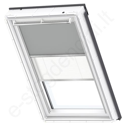 Velux tamsinanti klostuota DFD PK08 0705 Grey standartas