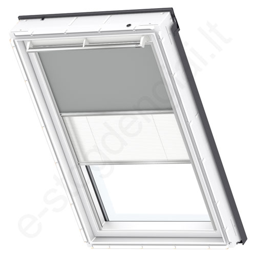 Velux tamsinanti klostuota DFD CK06 0705 Grey standartas