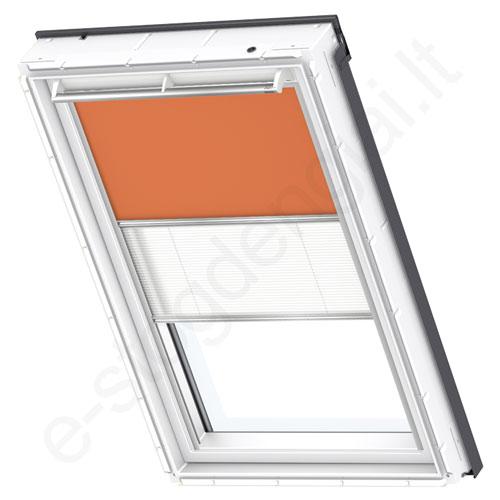 Velux tamsinanti klostuota DFD CK06 4564 Orange stilius
