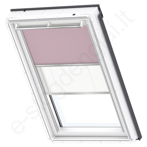 Velux tamsinanti klostuota DFD PK04 4565 Pale Pink stilius