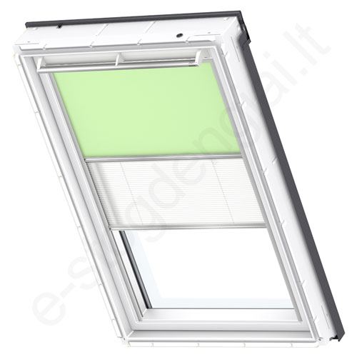 Velux tamsinanti klostuota DFD PK04 4569 Pale green stilius