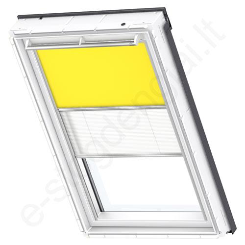 Velux tamsinanti klostuota DFD PK08 4570 Bright yellow stilius